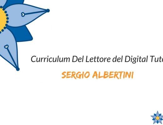Curriculum del Lettore di Sergio Albertini: il percorso di letture di un Digital Tutor