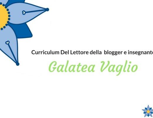 Curriculum Del Lettore di Galatea Vaglio: autrice del libro L'italiano è bello