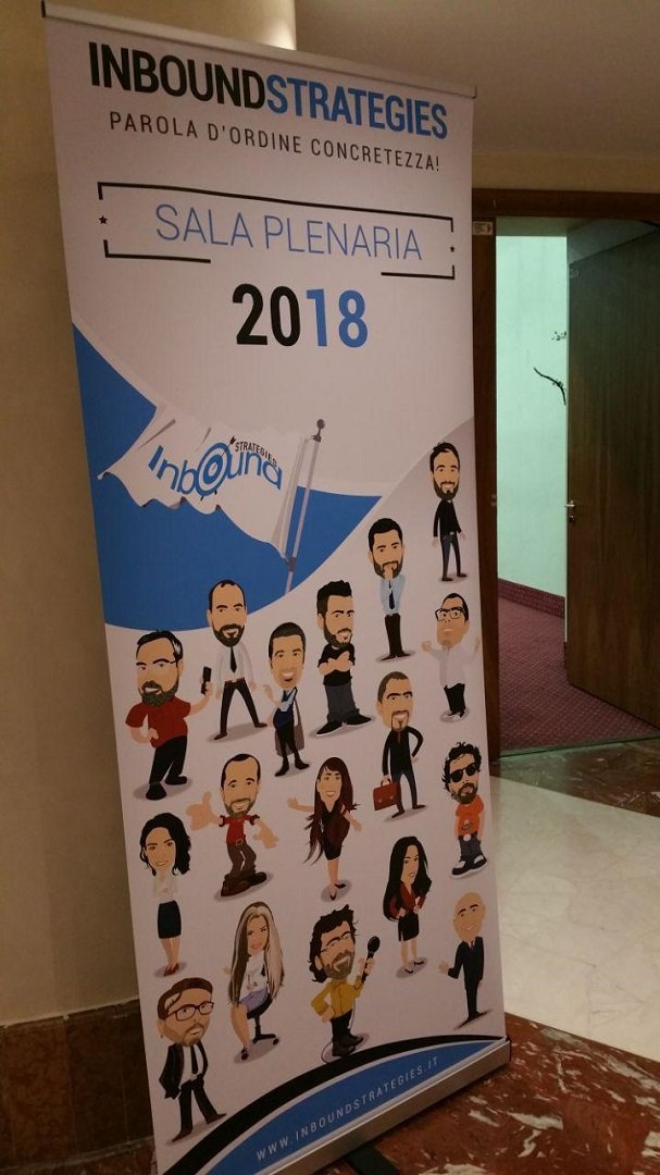 Inbound Strategies 2018: relatori e ingresso Plenaria