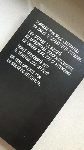Università futura di Juan Carlos De Martin, retro libro