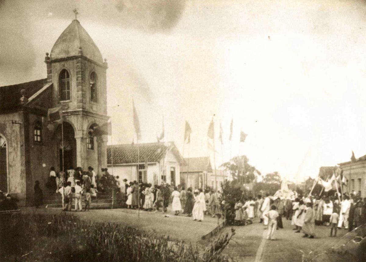 Igreja de Coqueiros - 1950