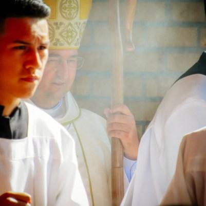 Paróquia São Jorge, Ordenação Diaconal com o Bispo Dom Francisco Cota