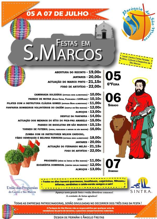Festas em Honra de São Marcos 2019