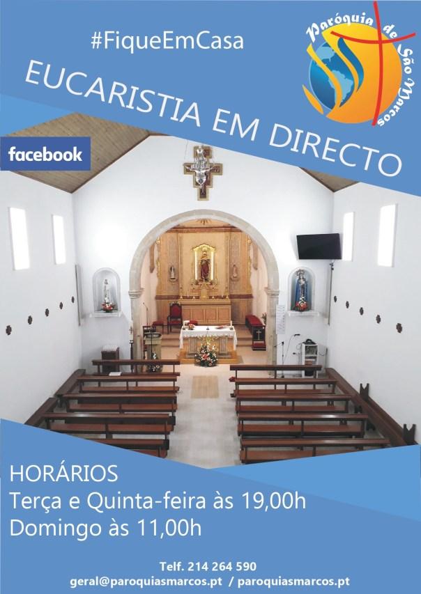 COVID 19- Eucaristia em directo - Facebook