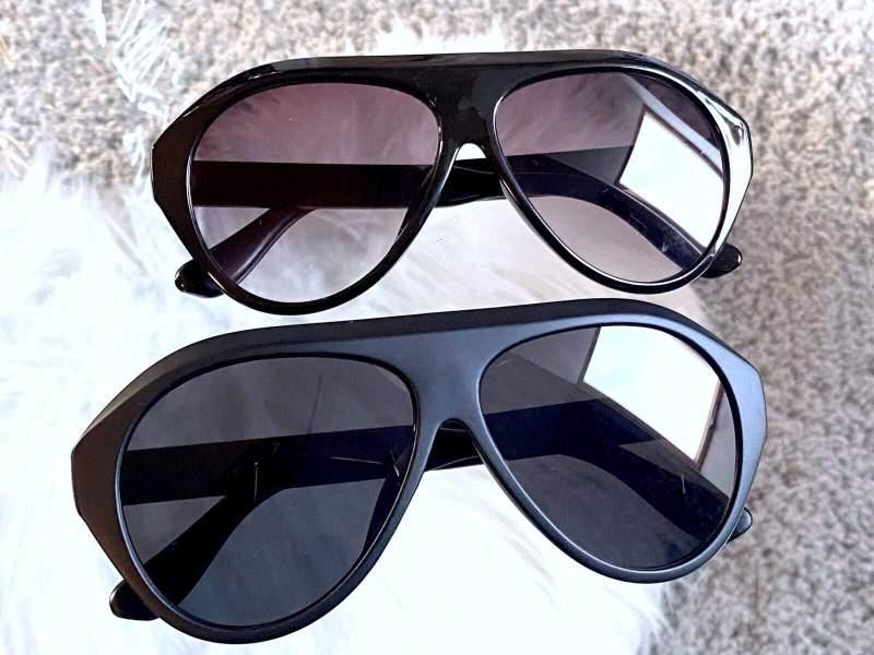 Amanda fekete unisex napszemüveg