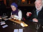 tasting fun in Prague pub