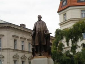 Woodrow Wilson statue, Prague