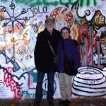 Michael & Karin at Lennon Wall