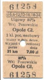 Bilety PKP gminy Kolonowskie (2)