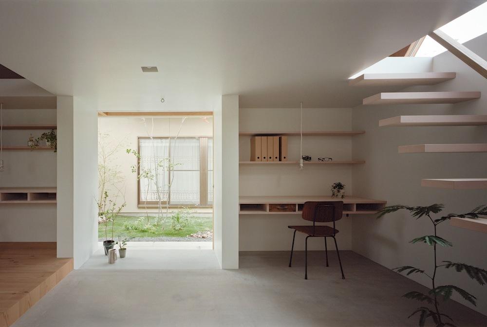 Architecture intérieure, style japonais