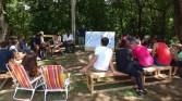 Ação com Amigos do Baobá. Maio de 2017. Foto: Maíra Brandão