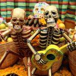 Ritual de día de muertos