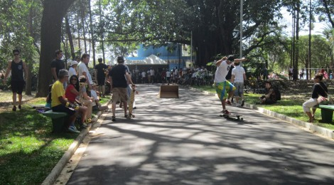 Ladeira do Bosque das Araucárias no Parque Ibirapuera