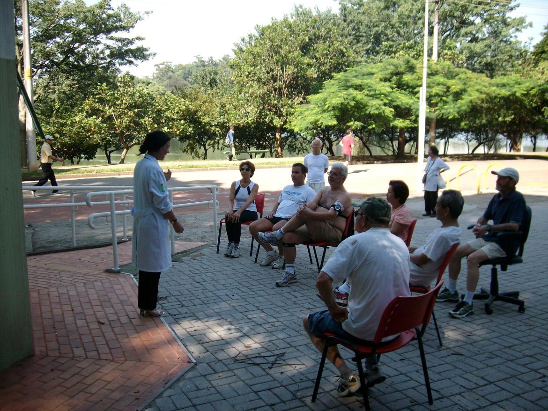 Quiosque da Saude no Parque Ibirapuera. Foto Prefeitura, divulgação.