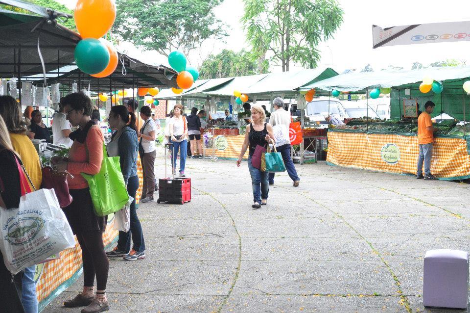 Feira de Orgânicos no Ibirapuera. Foto Divulgação da Comunidade de Feirantes no Facebook