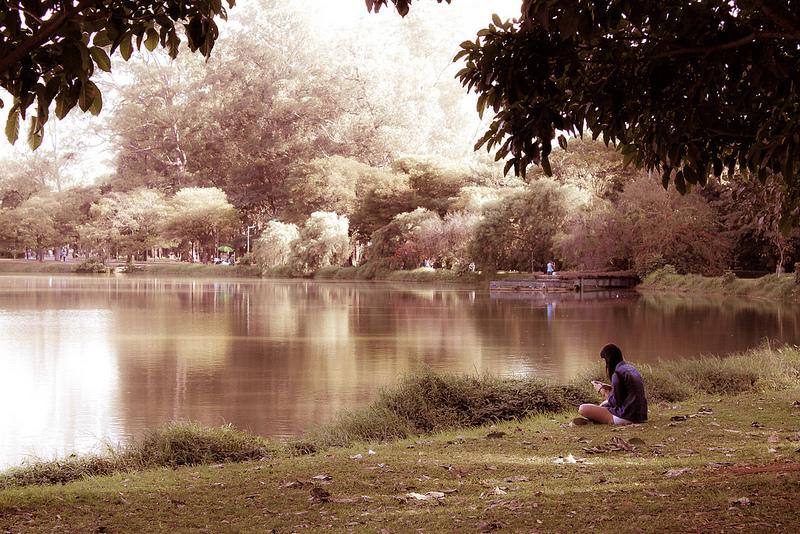 Lago do Ibirapuera. Foto de David Balderas