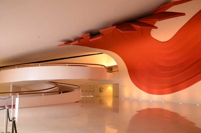 Foyer do Auditório. Foto R.Soldon.