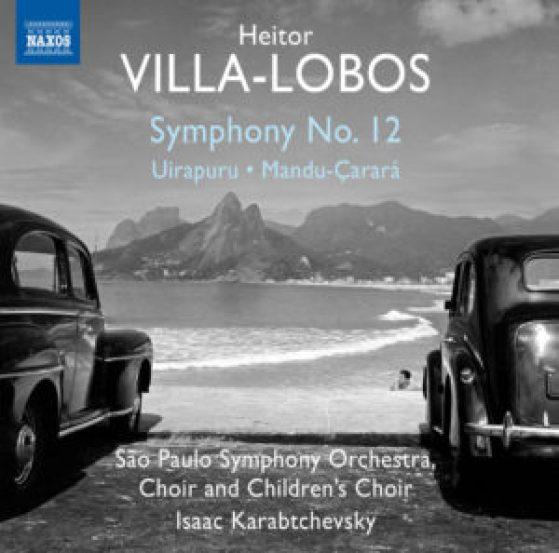 Capa do cd com a Sinfonia n.º12 de Villa-Lobos, parte do projeto de gravação integral das sinfonias do compositor pela Osesp (Orquestra Sinfônica do Estado de São Paulo) sob a regência do maestro Isaac Karabtchevsky.