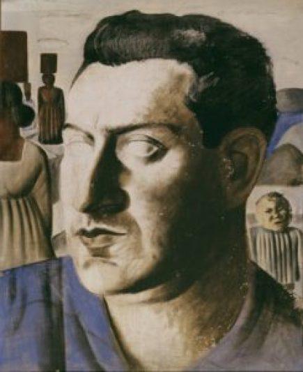 Retrato de Camargo Guarnieri, de 1935, por Candido Portinari. Col. Particular. Fonte: Portal Portinari (http://www.portinari.org.br/)