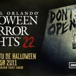 Halloween Horror Nights Oferta especial
