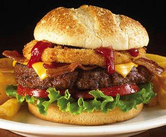 La famosa hamburguesa del Hard Rock en la Florida