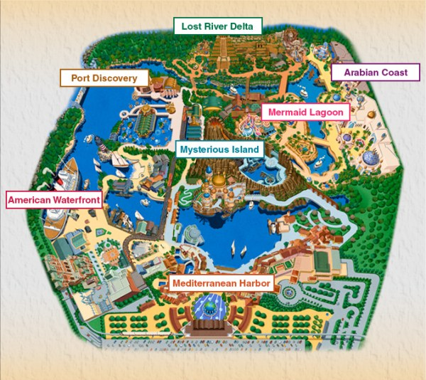 Mapa de Tokyo DisneySea