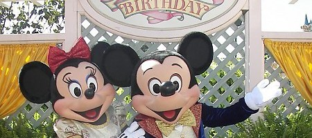 My Disneyland Birthday Party