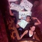 Splash Mountain con la propuesta de casamiento