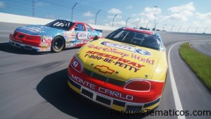 Richard Petty de Nascar a Disney Speedway