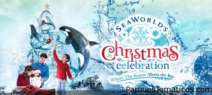 Christmas Celebration SeaWorld Orlando