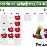 Calendario GrinchMas 2014-2015