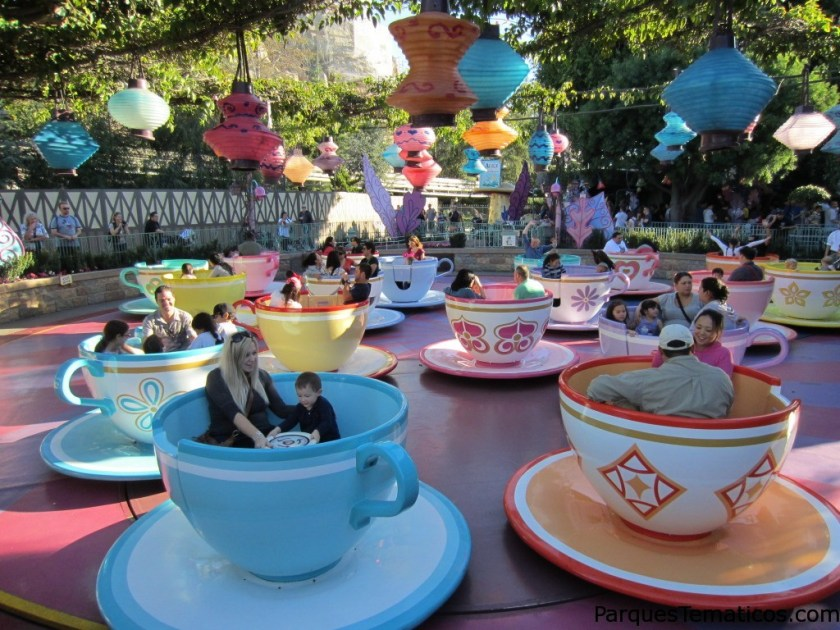 Mad Tea Party en Disneyland