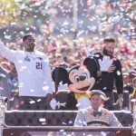 We're Going to Disneyland: Super Bowl Stars Julian Edelman and Malcolm Butler Join Disney Parks Tradition