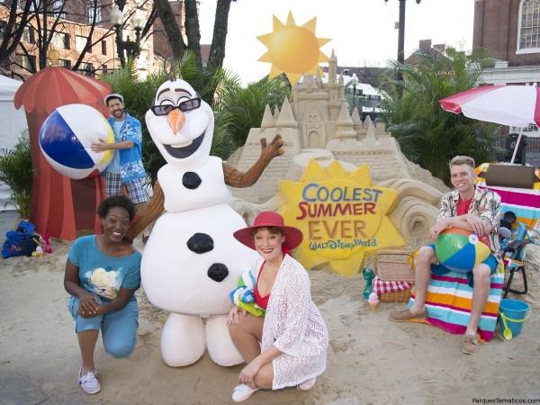 Los sueños 'Frozen' del verano de Olaf