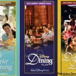 Disney Dining Plans 2015