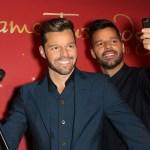 Ricky Martin descubre su propia figura de cera