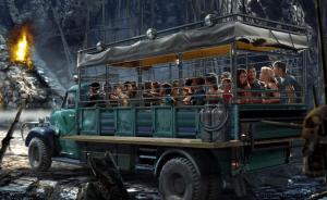 El vehículo será terrestres en esta atracción de Skull Island - Reign of - Kong