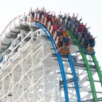 Six Flags Magic Mountain - Twisted Colossus Beauty Shots