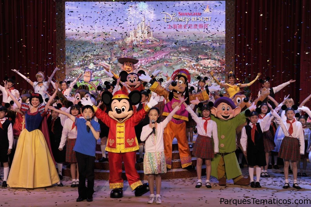 Shangai Disney Resort 2016