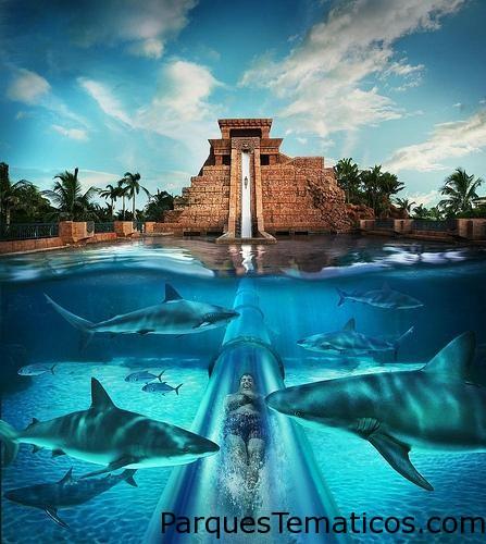 Parque Acuático Aquaventure en Atlantis Paradise Island   Isla Paraíso, Isla Nueva Providencia