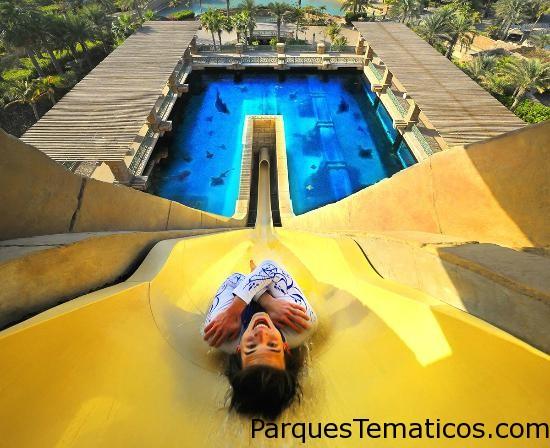 Parque Acuático Aquaventure   Dubái, Emiratos Árabes Unidos