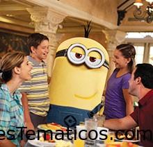 Desayunos con personajes en Universal Orlando