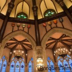 Cinderella's Royal Table y su hermosa cúpula