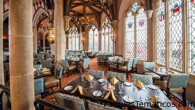 Comer en el Castillo de Disney World