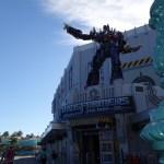 La entrada al juego de Transformers 3D