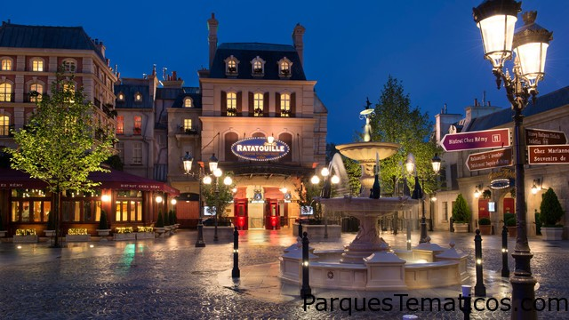 Atracciones del Parque Walt Disney Studios París
