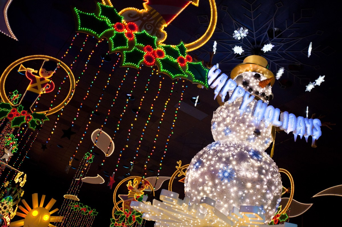 Fiestas Disneyland: 13 de noviembre al 6 de enero