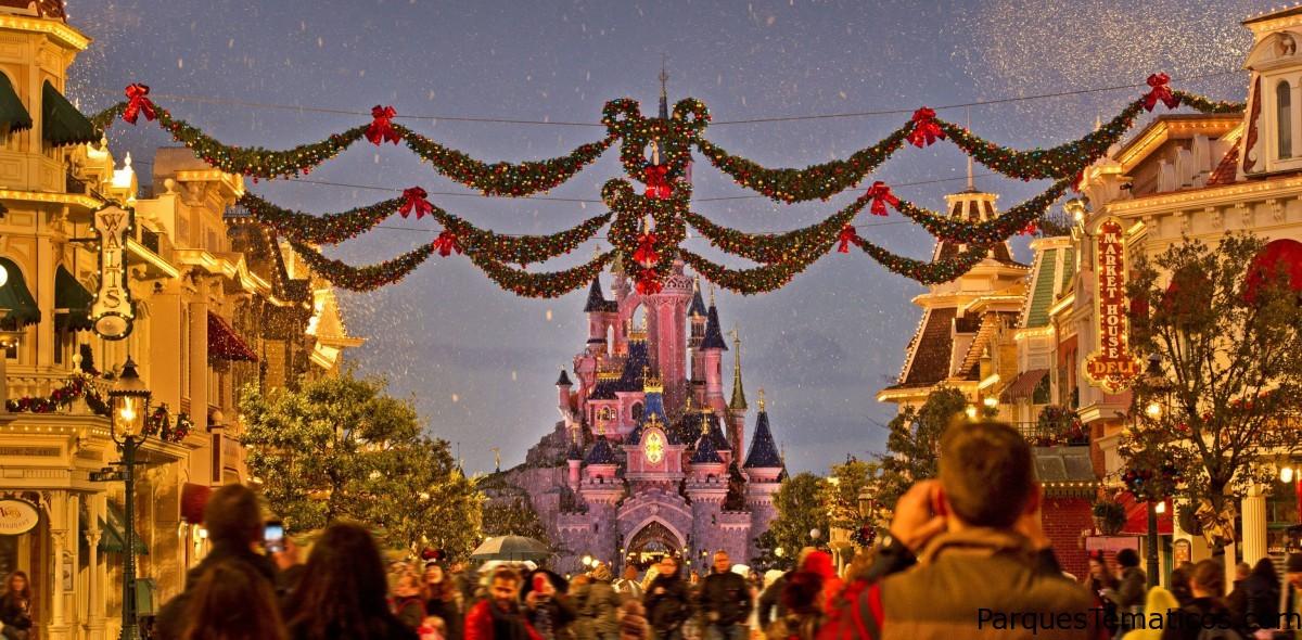 La Navidad se adelanta en Disneyland Paris