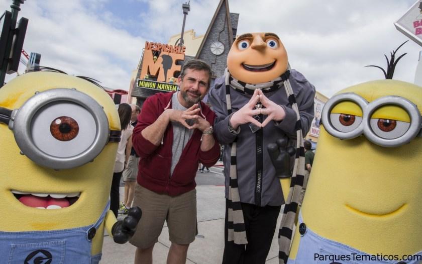 Universal Orlando quiere atraer más Adolescentes, y divertite como Steve Carrell