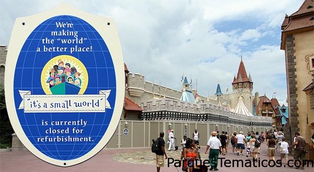 Guía 2016 en Walt Disney World de juegos y atracciones cerrados y en renovación